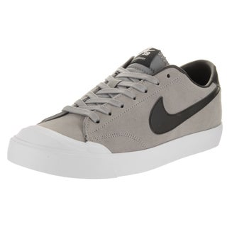 Nike Men's Zoom All Court Ck Grey Suede Skate Shoes