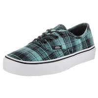 Vans Unisex Authentic Plaid Flannel Skate Shoes