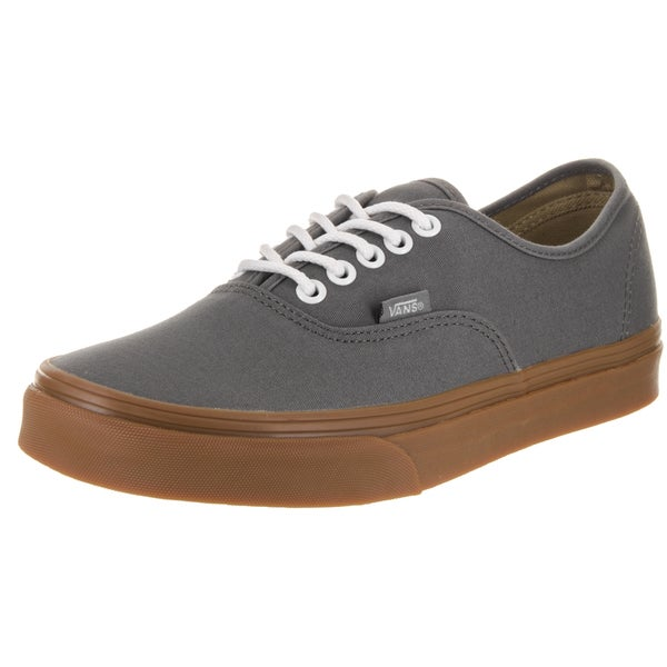 vans gray gum sole