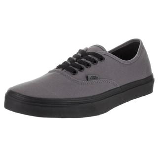 Vans Unisex Authentic Pop Outsole Grey Canvas Skate Shoes