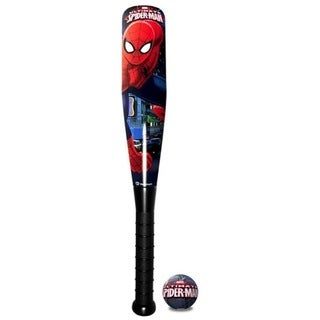 Hedstrom Ultimate Spiderman Foam 21-inch Baseball Bat and Ball