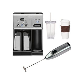 Cuisinart CHW-14 Coffee Plus 10-Cup Programmable Coffeemaker + Hot Water System with Accessory Kit