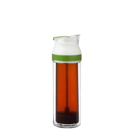 Honey-Can-Do KCH-06530 13.5-Ounce Single French Press - White