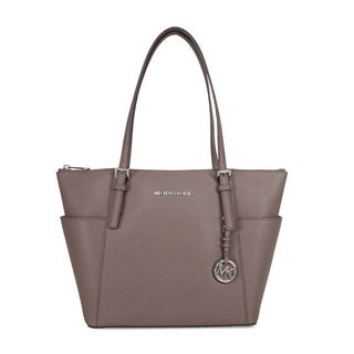 Michael Kors Jet Set Top-Zip Cinder Tote Bag