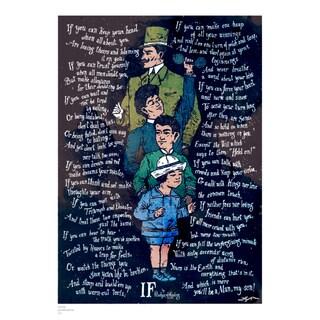 IF, Rudyard Kipling poster Grow