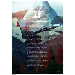 IF, Rudyard Kipling poster Mountain