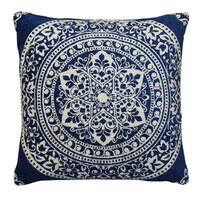 "Home Dynamix Laura Hill Collection Traditional Floral Decorative Pillow (20""x20"")"