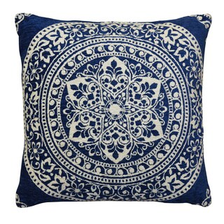 """Home Dynamix Laura Hill Collection Traditional Floral Decorative Pillow (20""""x20"""")"""