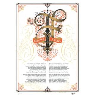 IF, Rudyard Kipling poster Medieval