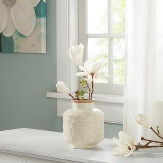 Madison Park Averly Modernist Cream Vase