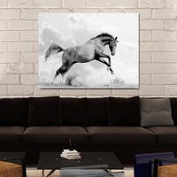 """""""Flying Horse"""" Giclee Print Canvas Wall Art"""