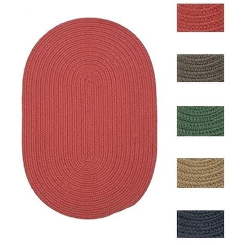 Colonial Mills Low-profile Indoor/Outdoor Reversible Braided Doormat