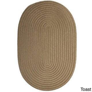 Colonial Mills Polypropylene Low-Profile Indoor/Outdoor Reversible Braided Doormat (1'10' x 2'10')