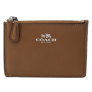 Coach Mini Silver/Saddle ID Skinny
