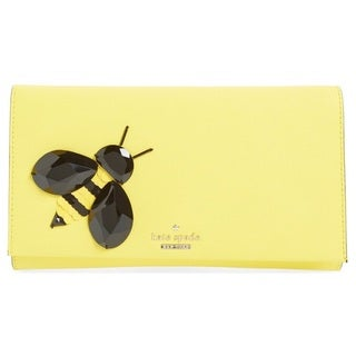 Kate Spade Down The Rabbit Hole Bee Yellow Tally