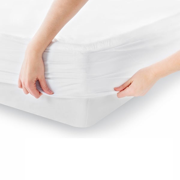 Hypoallergenic, Waterproof Cotton Mattress Protector