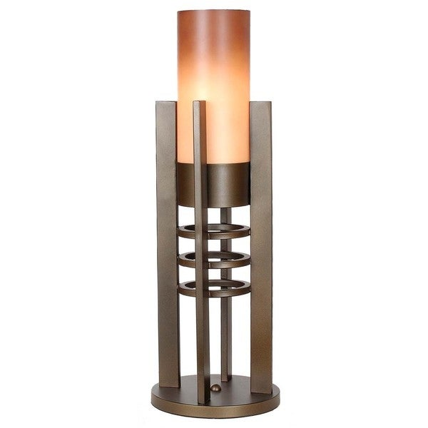 Van Teal 533478 Brown Metal Contemporary Table Lamp