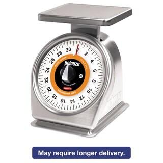 Rubbermaid Commercial Pelouze Mechanical Portion-Control Scale, 32oz Cap, 7 x 5 Platform