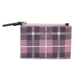 Kate Spade Fairmont Pink Bonnet Multi Square Cori Wallet