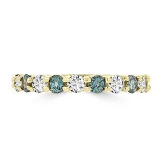 La Vita Vital 14k Yellow Gold 1/4ct TGW Alexandrite and 1/3ct TDW Diamond Ring (G-H, SI1-SI2)|https://ak1.ostkcdn.com/images/products/13750177/P20406713.jpg?impolicy=medium