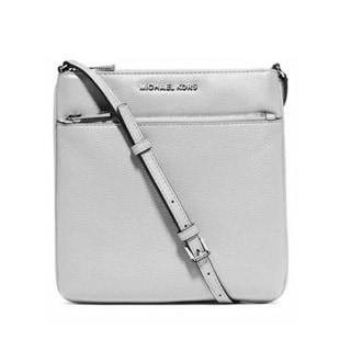 Michael Kors Riley Small Flat Cement Crossbody Handbag