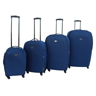 Rivolite Lightweight 4-piece Spinner Luggage Set
