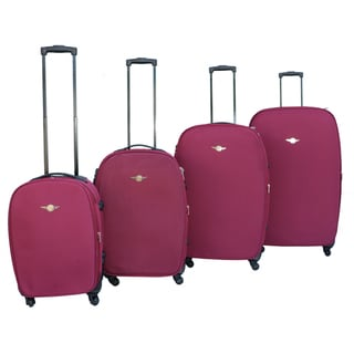 Rivolite Lightweight 4-piece Spinner Luggage Set