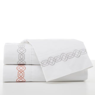 Martex Trellis Embroidered Sheet Set