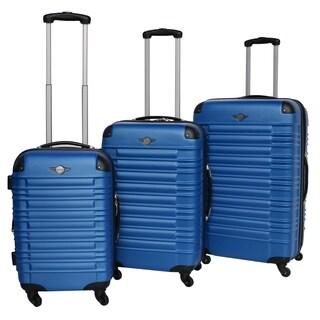 Rivolite 3-piece Expandable Harside Spinner Luggage Set