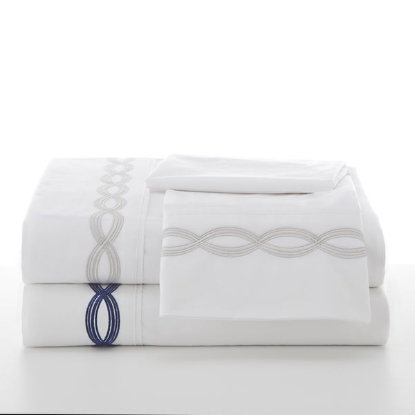 Utica Harlow Embroidered Sheet Set
