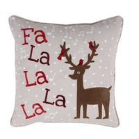 Affluence Holiday Microfiber Pillow Cover