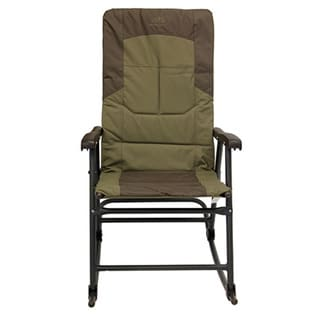 Alps Mountaineering Khaki and Brown Polyester Rocking Camping Chair