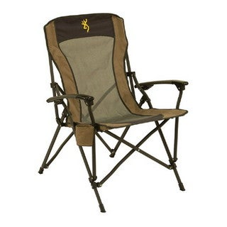 Browning Camping Gold Buckmark Fireside Chair