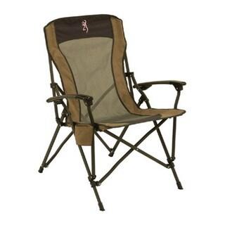 Browning Buckmark Pink Fireside Camping Chair