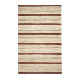 Jani Suli Brown Jute Handwoven Rug (9' x 12')