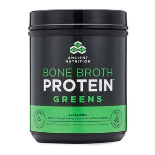 Ancient Nutrition Bone Broth 17.8-ounce Greens Protein