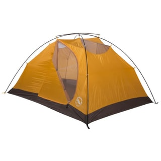 Big Agnes Foidel Canyon Black/Yellow Nylon 3-person Tent