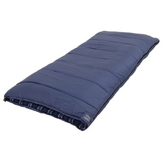 Alps Mountaineering Cedar Ridge Cobalt Springs Blue Flannel Cotton and Polyester +25-degree Sleeping Bag