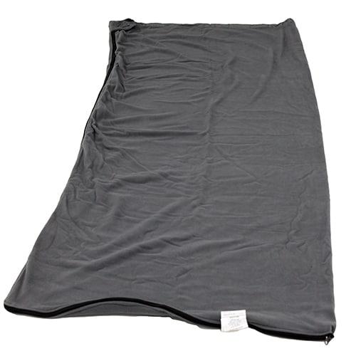 Alps Mountaineering Grey Polyester Fleece Bag