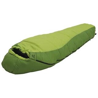 Alps Mountaineering Crescent Lake 0 Kiwi, Green Polyester Sleeping Bag - Long