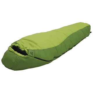 Alps Mountaineering Crescent Lake +20-degree Kiwi, Green Polyester Sleeping Bag - Wide