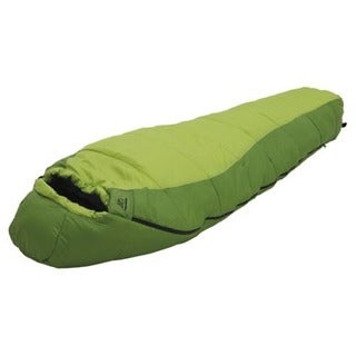 Alps Mountaineering Crescent Lake Kiwi/Green +20-degree Sleeping Bag - Short