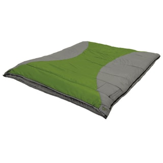 Alps Mountaineering Twin Peak +20-degree Green, Grey Sleeping Bag