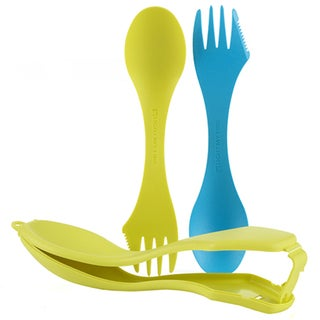 Light My Fire Cyan and Lime Spork'n Case Plus 1
