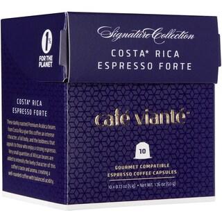 Cafe Viante Costa Rica Forte Espresso Capsules For Nespresso
