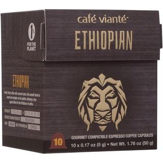Cafe Viante Ethiopian Espresso Coffee Capsules For Nespresso