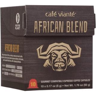 Cafe Viante African Blend Espresso Coffee Capsules For Nespresso