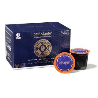 Cafe Viante the Quintessential Blend Gourmet Coffee Pods For Keurig