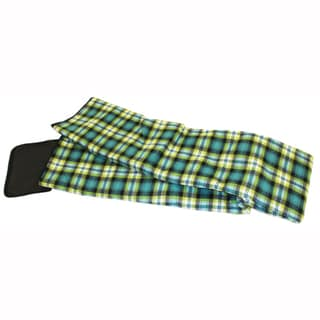 PahaQue Lemon-Lime Plaid Tent Rug (10' x 10')