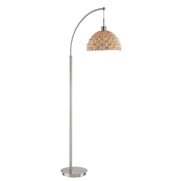 Lite Source 1-Light Linterna Floor Arch Lamp